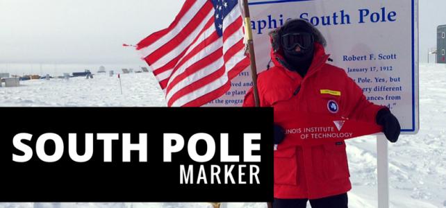 South Pole Marker