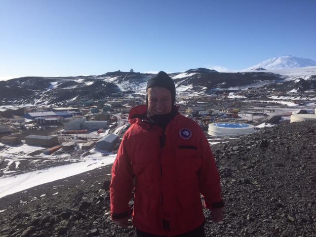 Landing in Antartica