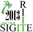ACM SIGITE 2013