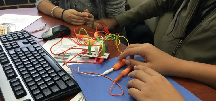 Winter STEM Launch: Coding with Makey Makey Kits at Truman College